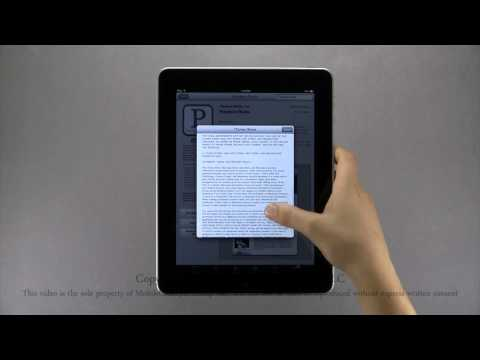 Apple iPad Tutorial Part 2