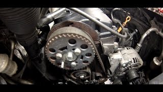 Zahnriemenwechsel 1.9 TDI AUY Seat Alhambra, Sharan / timing belt removal replacement