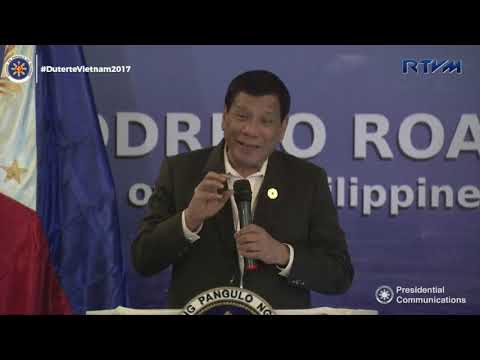 Meeting with the Filipino Community (Speech) 11/09/2017