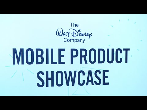 Disney Mobile Product Showcase