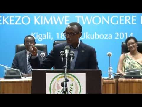 "President Kagame on the "" France Operation Turquoise"" in Gikongoro"