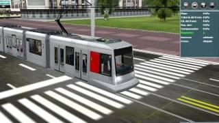 NF 10 Düsseldorf tram in Trainz simulator.
