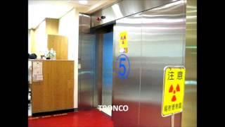 [TRONCO] Automatic ton level Sliding Door 噸級橫移自動門 (輻防門鉛版門)