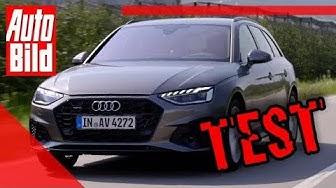 Audi A4 Facelift (2019): Test - Fahrbericht - Details