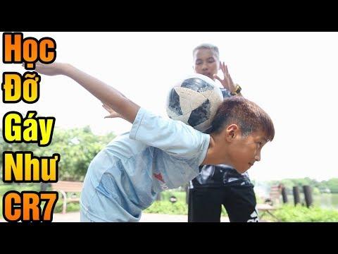 Đỗ Kim Phúc Hướng Dẫn Bóng Đá Kỹ Năng Đỡ Bóng Bằng Gáy Cực Đỉnh Của Ronaldo CR7