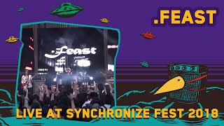 Feast Live at Synchronize Fest 2018