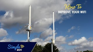 How to increase your router's WiFi signal using high power antennas! 2.4Ghz/5Ghz