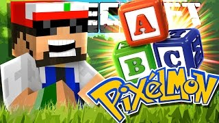 Minecraft | Pixelmon | NEW LEGENDARY AND ABC CHALLENGE!! [23]