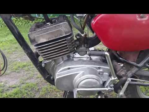 Звук нового мотора Минск после после замены....