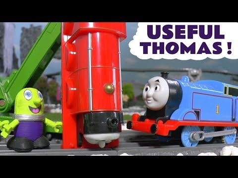 Thomas The Tank Engine Useful Thomas fun Toy Train Story with the funny Funlings for kids TT4U