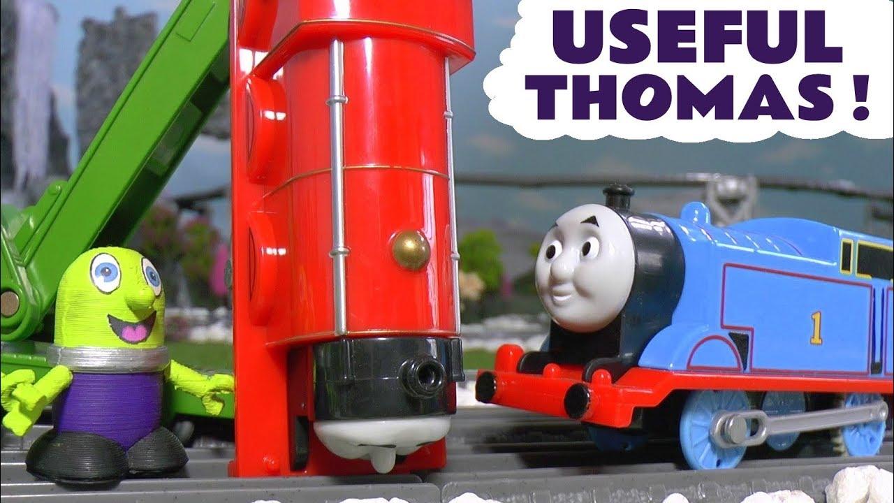 Thomas The Tank Engine Useful Thomas fun Toy Train Story ...