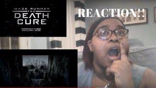 Maze Runner Death Cure Final Trailer Reaction!!!