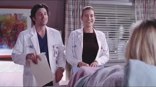 Addison and Derek being iconic exes for 2 minutes