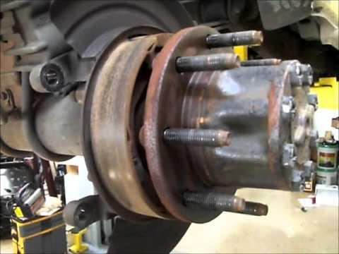 Ford F250 F350 Superduty Rear Brakes SRW - YouTube