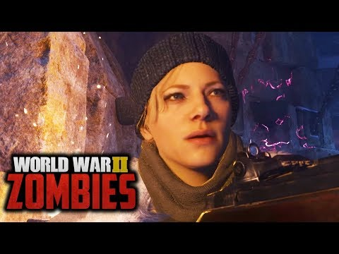 WW2 ZOMBIES - FULL MAIN EASTER EGG HUNT - The Tortured Path (Call of Duty WW2 Zombies)