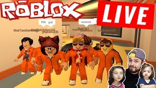 (LIVE) ROBLOX-Vieni HAVE FUN con papà e ASHLEY!