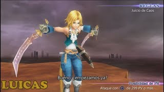 Final Fantasy Dissidia Coliseo Yitan Gameplay HD PPSSPP