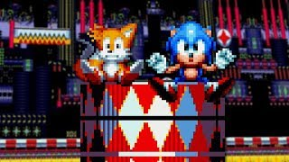 Sonic Mania - Carnival Night Zone - Walkthrough