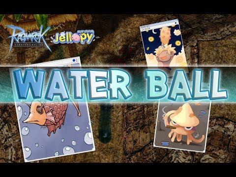 Ragnarok Online - Ro -  รีวิว การ์ด Sword Fish และอื่นๆ วิธีป้องกัน Water Ball + สกิลธาตุน้ำ