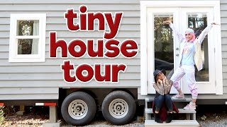 Tiny House Tour: MINIstry Of Magic Tiny House | Poletti Twins