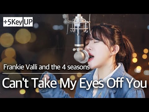 (+5 key up Funk Rock ver. ) Can't Take My Eyes Off You - Frankie Valli cover | Bubble Dia