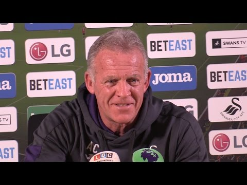 Alan Curtis (Swansea First Team Coach) Pre-Match Press Conference - Swansea v Bournemouth
