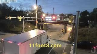 Wakeup call at the 11foot8 bridge