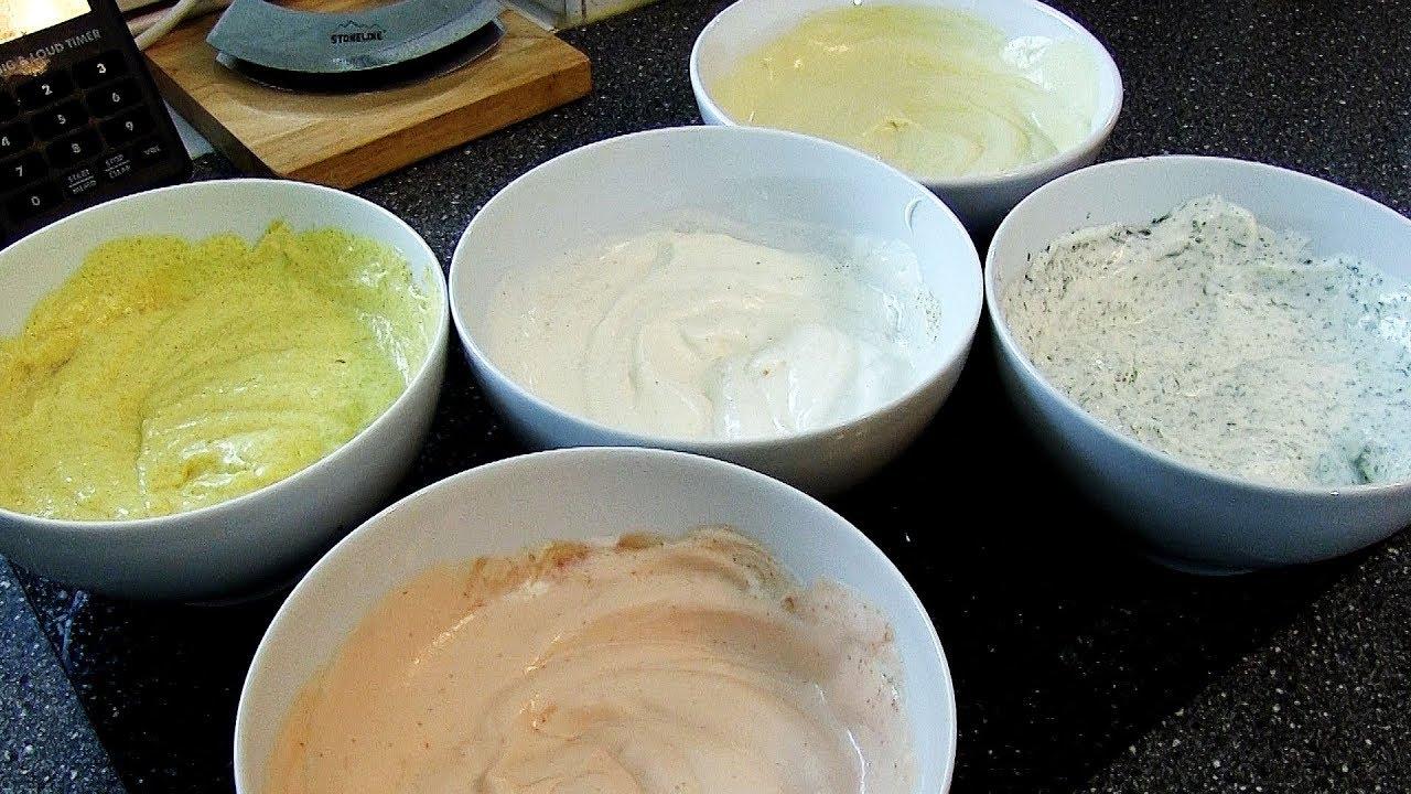 rezept raclette fondue 5 dips saucen in 5 minuten. Black Bedroom Furniture Sets. Home Design Ideas