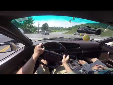 Driving a Porsche 944s. First Impressions