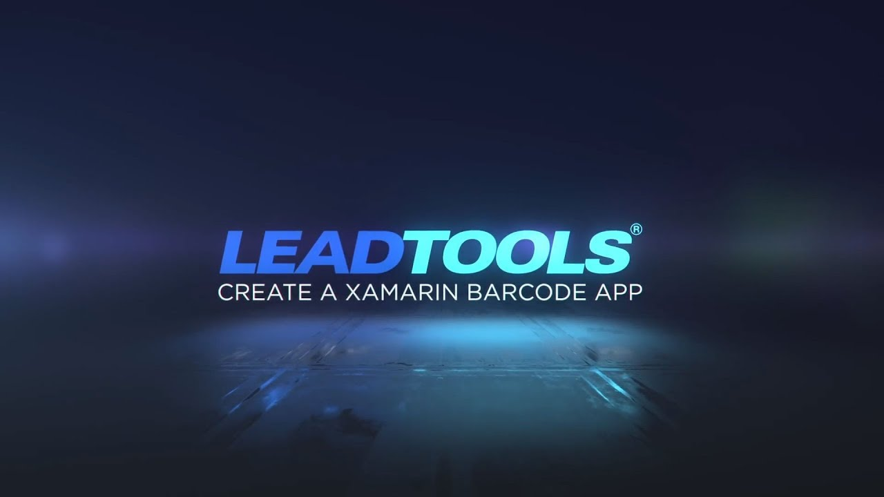 How To Create a Xamarin Barcode Reader Application With LEADTOOLS