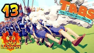 UNE BELLE BROCHETTE ROYALE !!! -Totally Accurate Battle Simulator- avec Bob Lennon
