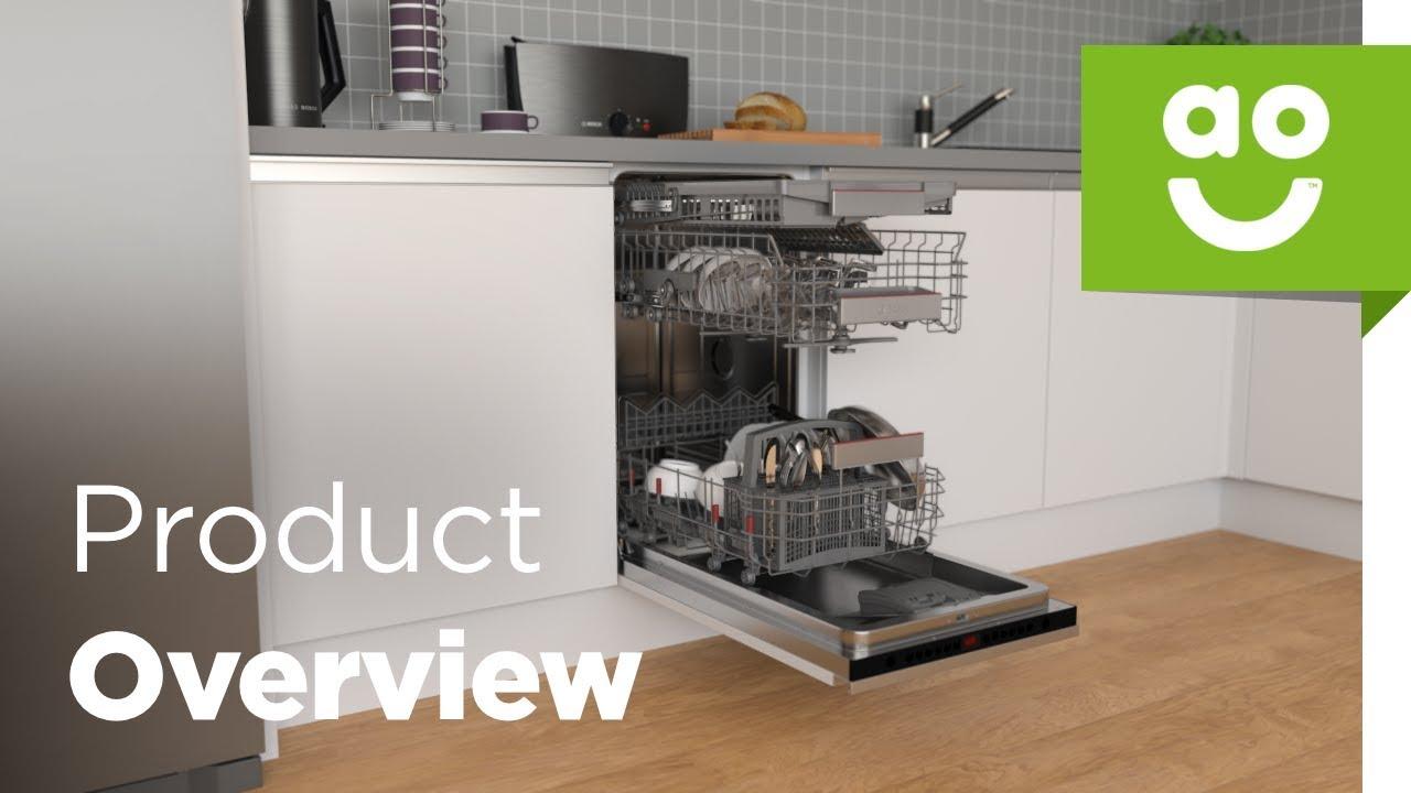 Bosch Dishwasher SPV66TX00G Product Overview | ao com