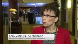 Ekonomia: Polska gospodarka odporniejsza na kryzys finansowy