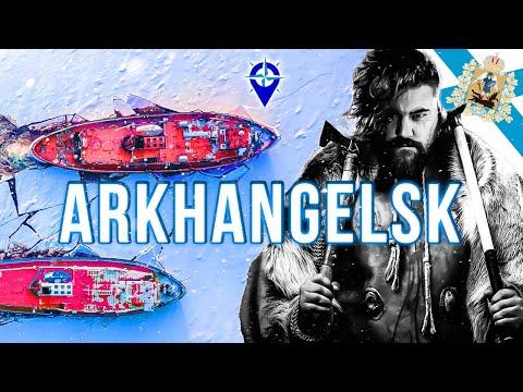 Arkhangelsk Oblast || Russia's OLDEST frozen PORT CITY