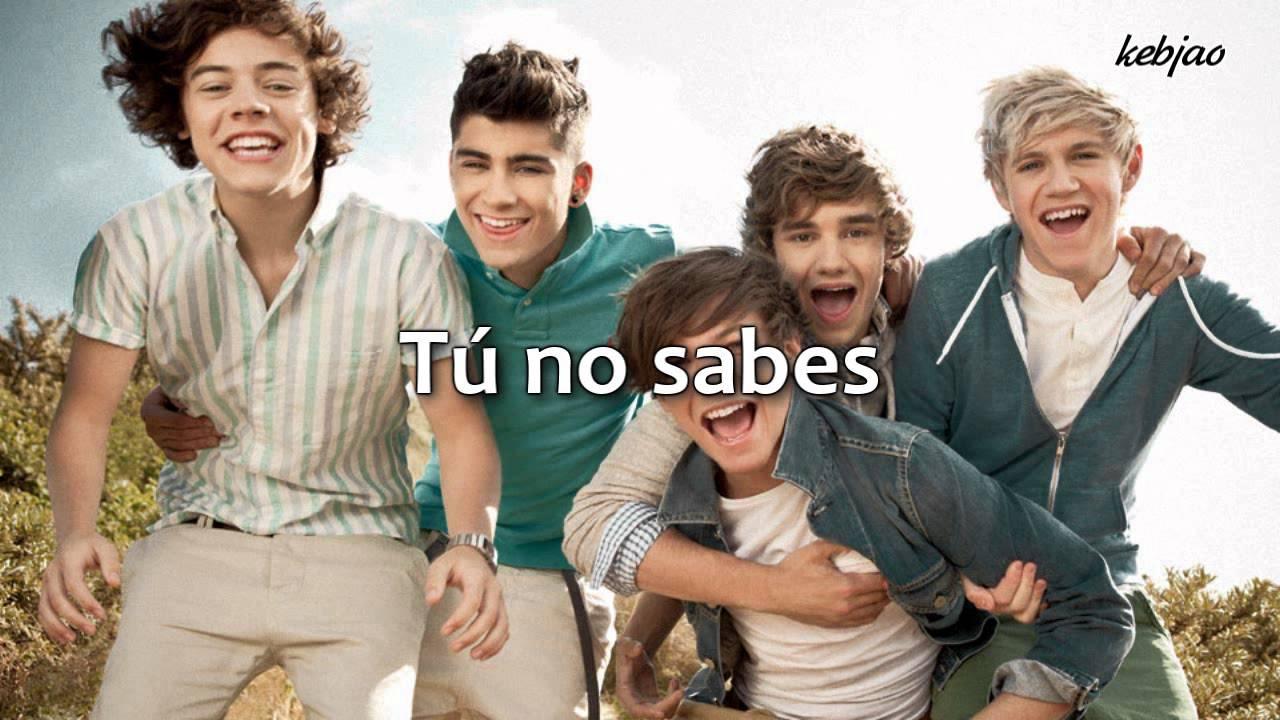 01 One Direction What Makes You Beautiful Traducida Espanol Youtube