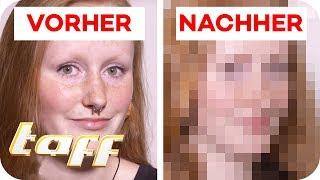 Laura (18) hat keine Augenbrauen: Kann man Ihr helfen? | SOS - Einsatz der Beauty-Retter | taff
