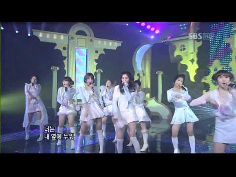 Girls' Generation (SNSD) - SBS Kissing You Live 1080p mp3