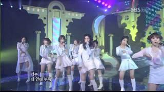 vuclip Girls' Generation (SNSD) - SBS Kissing You Live 1080p