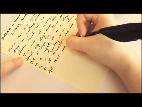 5. Quill on Parchment Paper - SOUNDsculptures (ASMR)