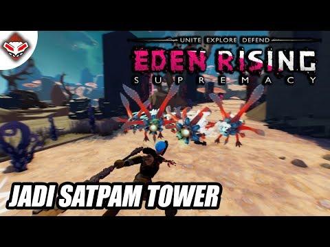 Jadi Satpam Tower - EDEN RISING SUPREMACY - PC GAMES REVIEW