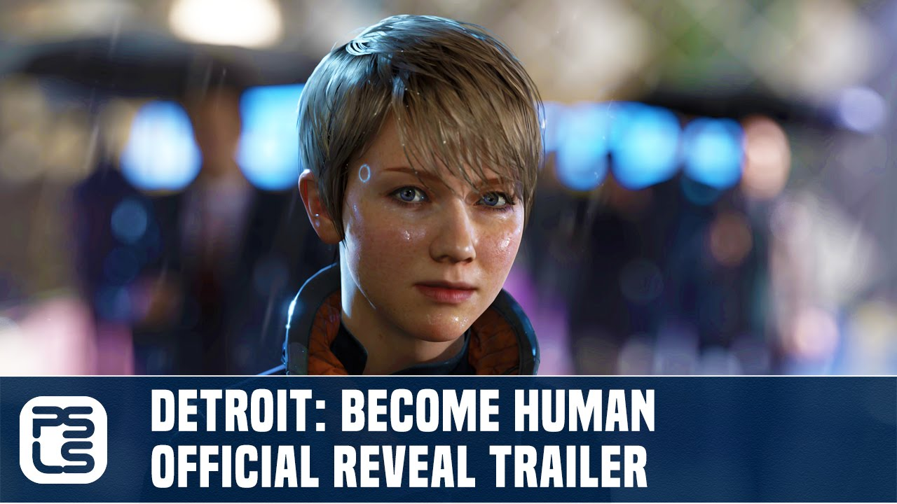Detroit: Become Human - Official Quantic Dream Announce Trailer - YouTube