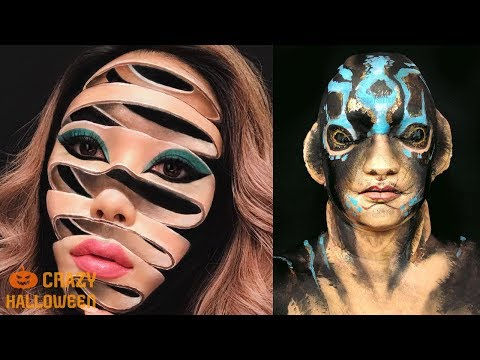 NO PHOTOSHOP! TOP 15 Halloween Makeup Tutorials 2018