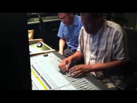 "Scientist in the studio mixing Dubiterian's ""Classeek Riddims"""