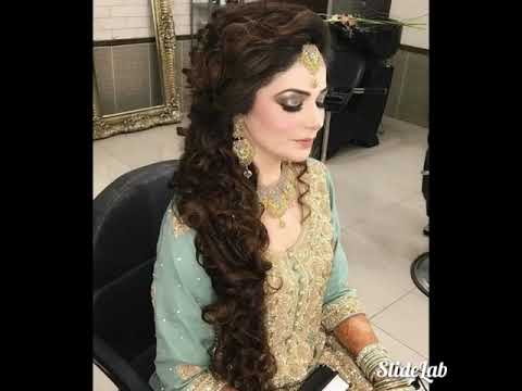 Pakistani Indian Party Makeup And Wedding Hair Style Youtube