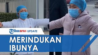 Video Seorang Anak Merindukan Ibunya Yang Seorang Perawat Di RS Virus Corona, Peluk Dari Kejauhan