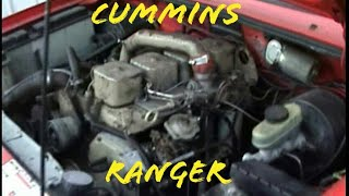 1993 Ford Ranger Splash 4bt Cummins work in progress update 2