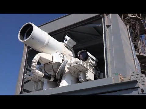 US Navy's new drone-killing laser