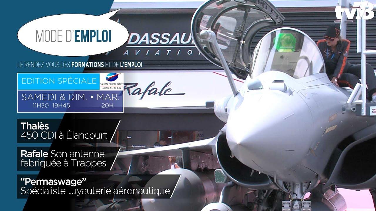Mode d'Emploi. Le dynamisme du secteur de l'aéronautique à Saint-Quentin-en-Yvelines