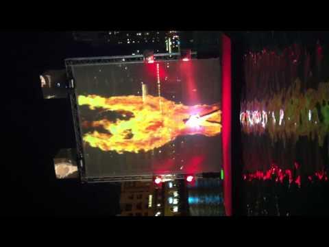 Лазерное шоу Dubai mall 2013