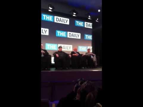 Rupert Murdoch Talks The Daily